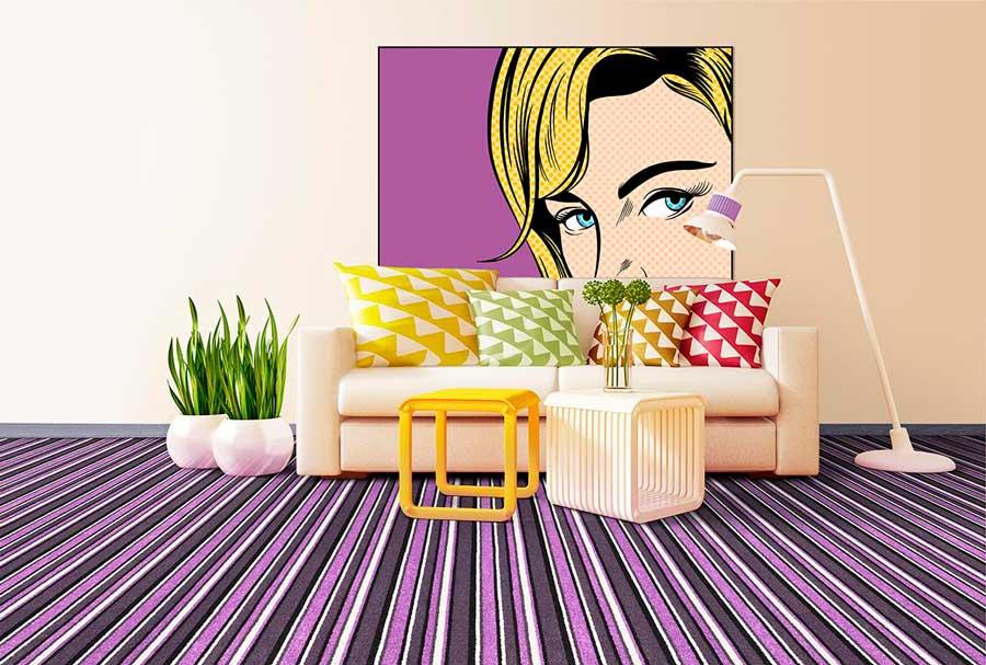 décoration-style-pop-art-avec-tableau